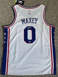 TYRESE MAXEY Signed 76ers Nike Autographed NBA Swingman Rookie Jersey FANATICS