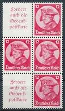 D.Reich Zusammendruck S 103 postfrisch/** im Blockstück (69822)