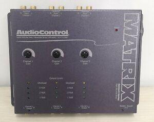 AudioControl Matrix Concert Series 6-channel line driver (Gray) UOS#