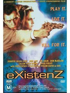 EXISTENZ DVD Existence DAVID CRONENBERG movie