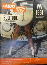 Auto Motor Sport 16/1960. ua.Hansa 1100,Dauphine