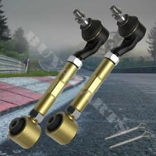 2004-2008 Acura TSX Adjustable Rear Upper Camber Control Arms Kit Pair Gold