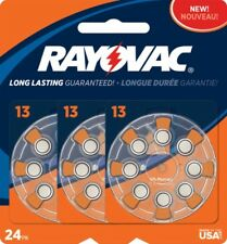Rayovac Hearing Aid Batteries Size 13