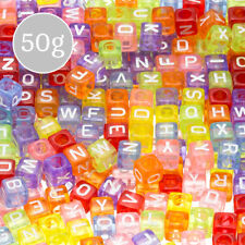 Beads wamami Beads & Jewelry Making Acrylic+mixed+letter+bead+letter+beads+4mm+*+7mm%7e600pcs