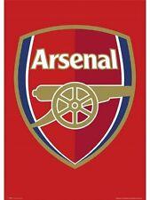 "ARSENAL FC MINI POSTER""CLUB BADGE"" SOCCER ""LICENSED"" BRAND NEW ""ENGLISH PREMIER"