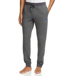 Emporio Armani Men's Lounge Jogger Drawstring Sweatpants Gray Size XL NEW $95