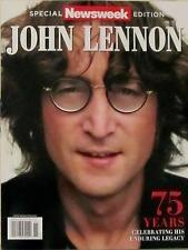 Newsweek Magazine Special Edition - JOHN LENNON 75 Years (2015) NEW - FREE SHIP!