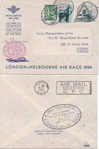 Netherlands 1934 Lonon-Melbourne Air Race from Haalem to Sydney {Below}