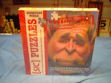 [SIC] Bipartisan G.W. Bush Mission Accomplished 399 Pieces Puzzle Zipper Mouth