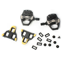 Fits Shimano 105 PD-5800 Carbon SPD-SL Road Bicycle Bike Pedals Clipless 9/16""