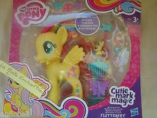 mon petit poney Fluttershy 14 cm mèches colorés cheveux extra long hasbro A 5933