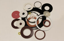 CUSTOM DELRIN/ACETAL Plastic WASHERS & SPACERS, made to your QUANTITY, & SPECS