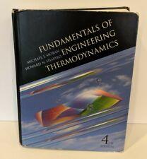 Fundamentals of Engineering Thermodynamics - Moran & Shapiro 4th Edition