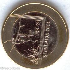 3 Euro Slovenia 2014 nuovo disegno Finestrino @ Novità @ 8ª @