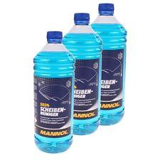 MANNOL Scheiben Frostschutz -70°C 3x1 Liter Scheibenreiniger Frostschutzmittel
