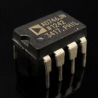 5PCS AD746JN Dual Precision,500ns Settling,BiFET OPAMP