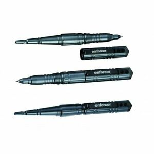 Enforcer Tactical Pen II Schwarz, Kugelschreiber champagner Hauser Mine mit Box