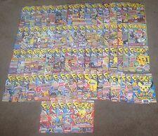 OVER 80 POKEMON MAGAZINES : POKEMON WORLD/ POCKET WORLD, Bundle, Collection, Lot