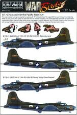Kits World Decals 1/72 B-17E Heavies Over The Pacific Calamity Jane Ready Betty