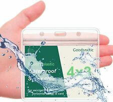 Waterproof Zipper Vaccination Card Holder Record 4 X 3 Protector Vaccine Cdc