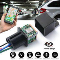 Car Vehicle Tracking Relay GPS Tracker Device GSM Locator Remote Control MA2099