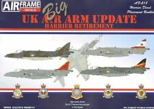 Modello Alliance 1/32 UK Air ARM aggiornamento Harrier Pensionamento # 32218