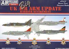 Model Alliance 1/32 UK Air Arm Update Harrier Retirement # 32218
