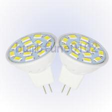 2X MR11 2.4 Watt LED Cool White 6000K Bi-Pin Light Bulb 12V-24V Landscape