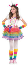 Amscan Kids Rainbow Unicorn Girls Fancy Dress Costume