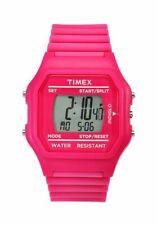 Timex Pink Jumbo Digital $65 Retail Indiglo Watch T2N246 Classic Sport