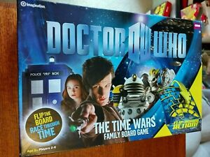 Doctor Who The Time Wars Family Board Game Complete