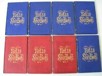 (8) RARE 1857 SET ROLLO STORY BOOKS JACOB ABBOTT VICTORIAN CHRISTIAN HB VG