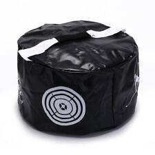 Golf Power Impact Swing Aid Practice Training Smash Hit Strike Bag Trainer Black