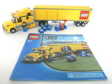 LEGO CITY SEMI TRUCK BIG RIG #3221 COMPLETE W/ INSTRUCTIONS