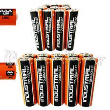 10 AAA + 10 AA Duracell Industrial Procell Alkaline 20 batteries MIX LR03 LR6