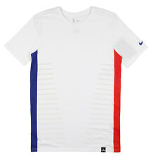 Nike Los Angeles Clippers DNA T-shirt Sz M Medium White Blue Red Basketball NBA
