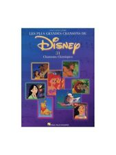 Les Plus Grandes Chansons De Disney Learn to Play Piano Vocal Guitar MUSIC BOOK