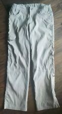 Kuhl Girls Roll Up Quick Dry Stretch Tan Cargo Pants Size M ((10)