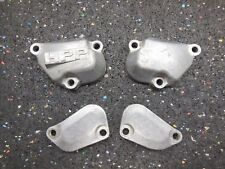1989 Honda CR250 Cylinder power valve covers cover 89 CR 250
