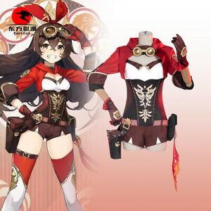DFYM Game Genshin Impact Cosplay Amber Costume Women Sexy Outfit Halloween