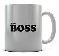 The Boss Mug Cup Present Gift Coffee Birthday