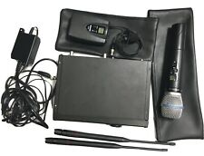 Shure ULXP4 554 to 590 MHz Wireless Microphone Receiver+ HH Lav Bundle