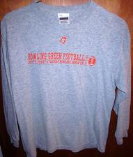 BOWLING GREEN FALCONS lrg T shirt OHIO longsleeves Doyt L. Perry Stadium tee