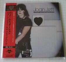 JOAN JETT - Bad Reputation REMASTERED JAPAN MINI LP CD OBI NEU VICP-62435