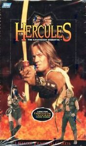 XENA - HERCULES TLJ SEALED CARD BOX - TOPPS 1997 + CHASE CARDS - RARE BOX