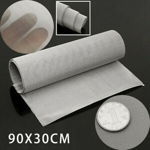 100-Micron Mesh Stainless Steel Woven Wire Cloth Screen Filter Sheet 12X35