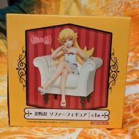 """Taito Monogatari Series: Shinobu Oshino Sofa Figure 4.7"""" Authentic New In Box"""