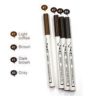 3 Colors Four Tips Beauty Eyebrow Tattoo Pen Natural Waterproof Eyebrow Pencil