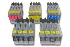 20x CARTOUCHE ENCRE d'imprimante noir couleur pour BROTHER MFC-J6910 MFC-J5910DW
