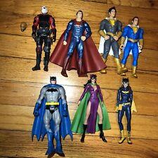 Dc Multiverse Catwoman Mattel Batman Batgirl Deadshot Shazam Lot Figures